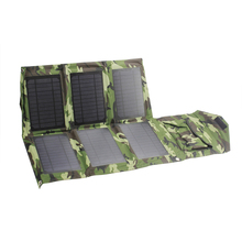 21W folding portable usb solar charger