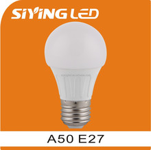 NINGBO plastic+Aluminum led lights G50 e27 5W 6W 7w led bulb