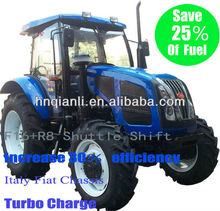 95hp high quality agricultural 4 wheel drive shuhe tractor