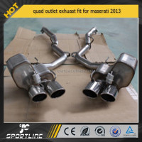 quad outlet exhuast fit for maserati 2013