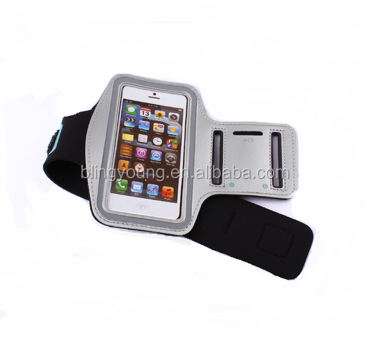 Outdoor Running waterproof mobile phone nylon sports arm bag
