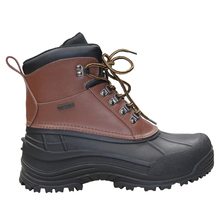 Mens Classic Warm Leather Snow Boots