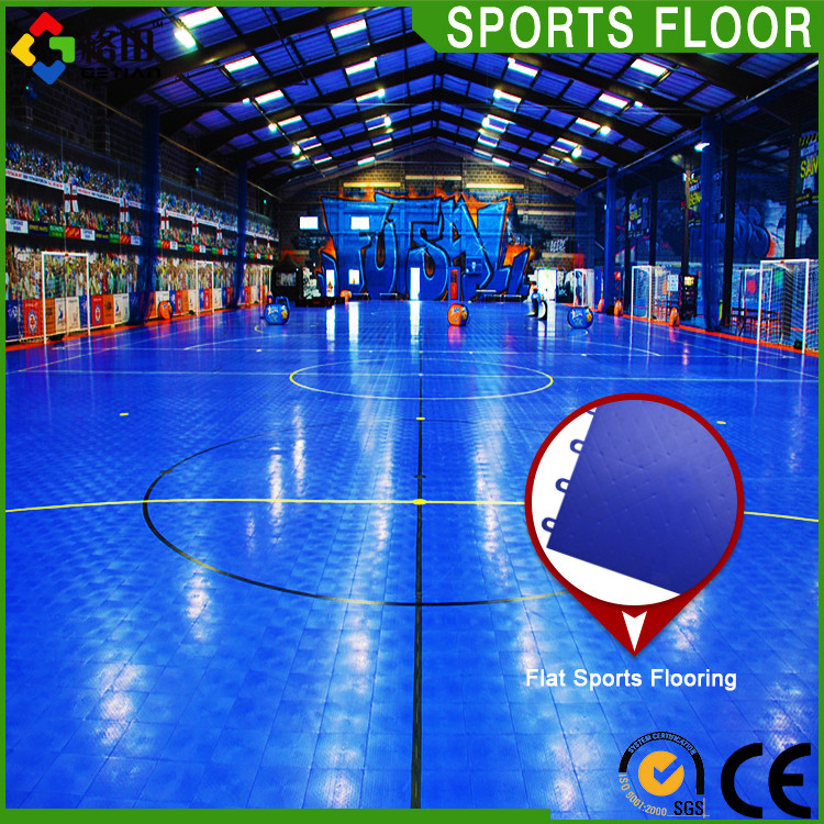 CE Standard Promotional top quality pp malaysia futsal court interlock floor