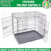 "Haierc Best Pet Black 36"" Pet Folding Dog Cat Crate Cage Kennel with ABS Tray"