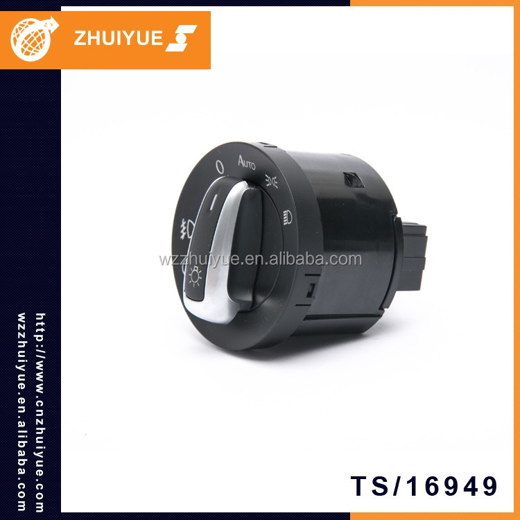 ZHUIYUE 3C8 941 431A / 5ND 941 431B / 5ND 941 431C Headlight Switch Car Spare Parts For VW PASSAT B6 GOLF 6