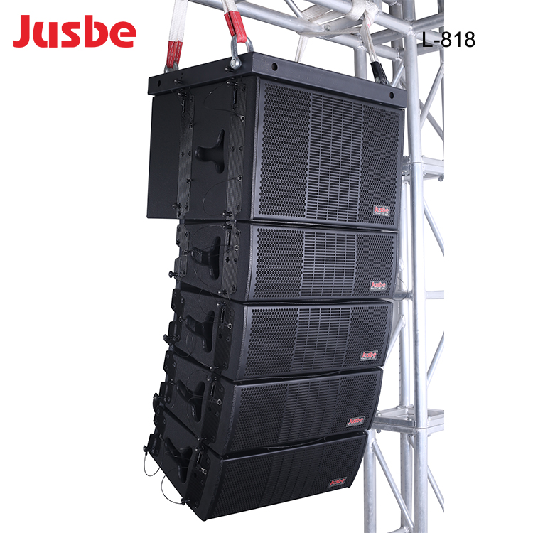 L-808 passiva sistema line array de 8 ''hot sale