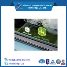 Transparent PVC Car Static Cling Decals