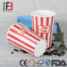 Reusable Customized Printed KFC Paper Popcorn Bucket