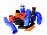 Silicone Hose reinforce Straight/Reducer Coupler/45&90&135 Elbow/Vaccume Hose ID:6.5mm-152mm option