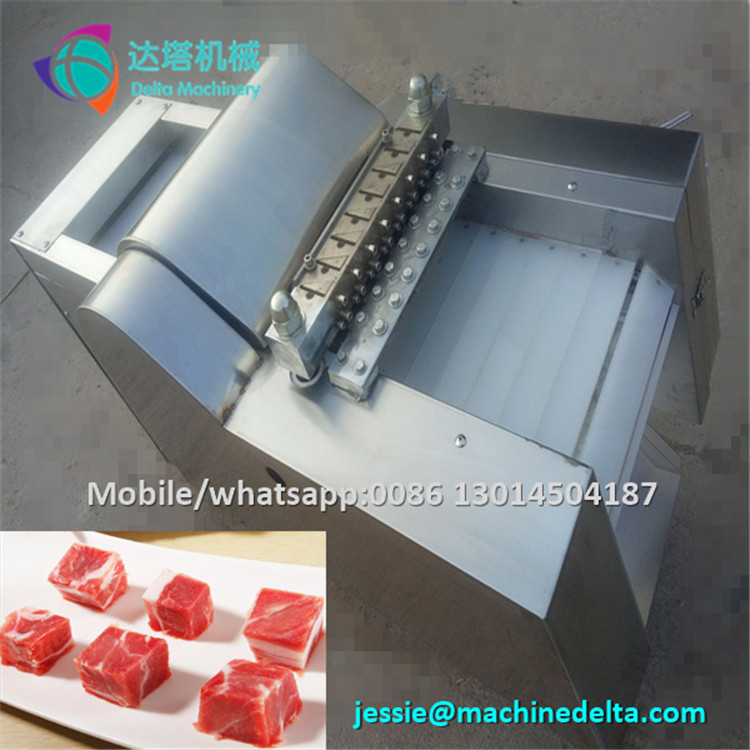 meat dicer machine/big meat dice cutting machine/beef jerky cutting machine