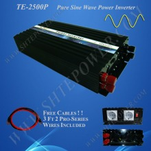 Low price pure sine wave dc ac 24v 240v 2.5kw 2500w kbm power inverter