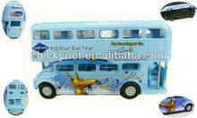 Zinc alloy toy city bus