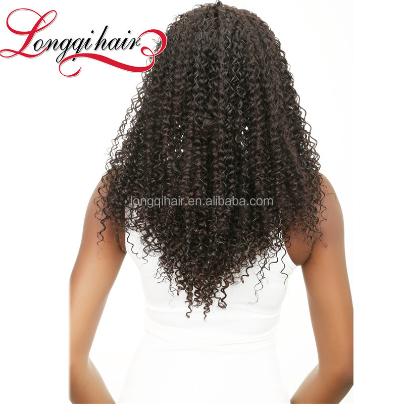 2015 New Products Bun Hairpieces For Black Women,Afro Kinky Curly 100% Indian Human Hair Extensions Honey Curly Weave Hair