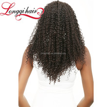 2017 New Products Bun Hairpieces For Black Women,Afro Kinky Curly 100% Indian Human Hair Extensions Honey Curly Weave Hair
