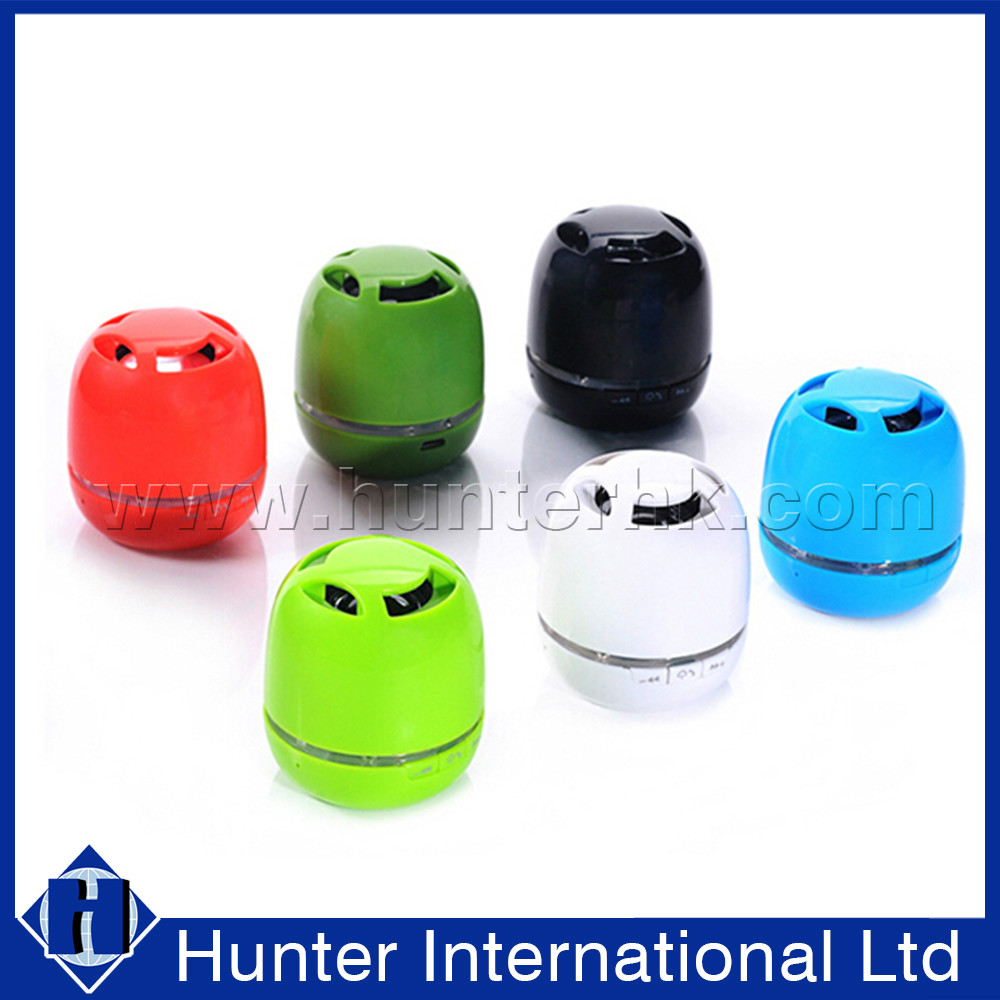 Mini LED Light FM Radio Bluetooth Mini Speaker