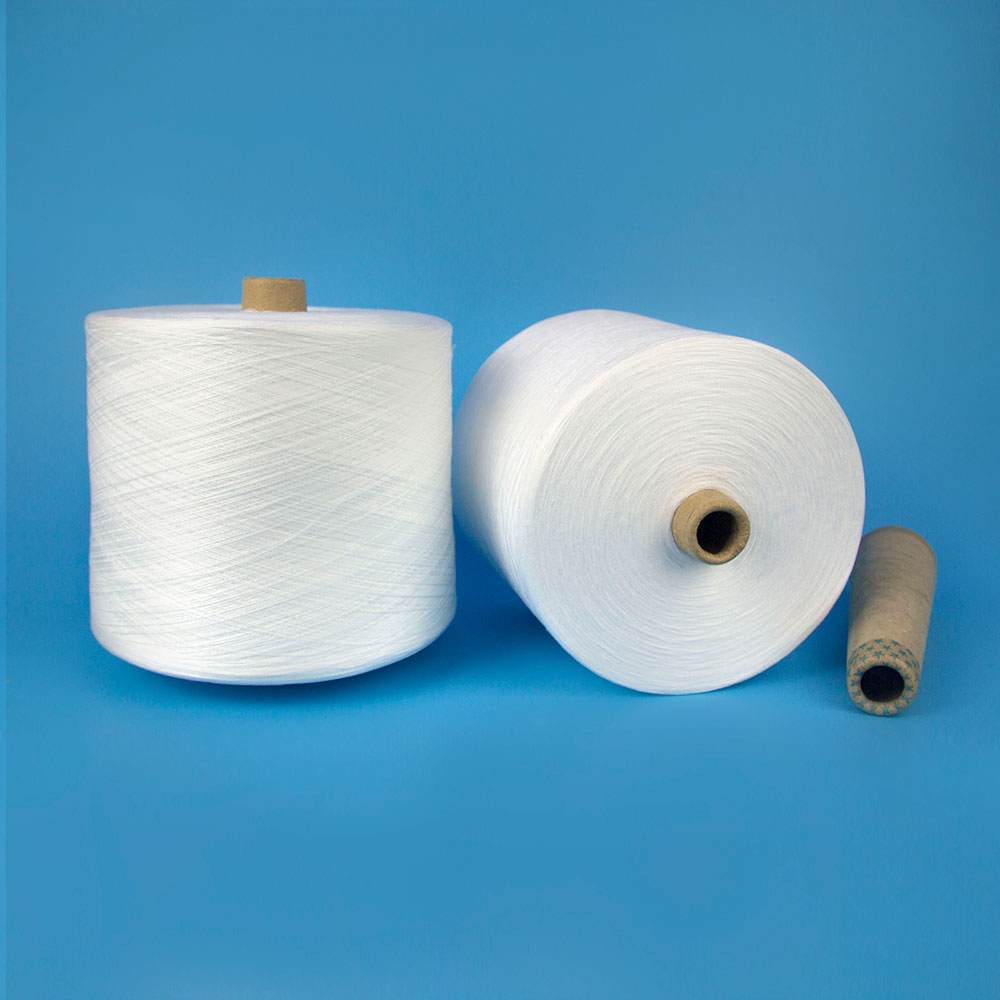 Spun Yarn Style Stock Lot Polyester Spun Yarn Exporters for Sewing