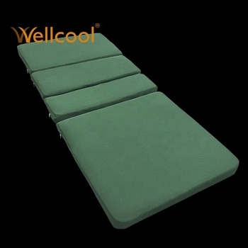 foldable green medical breathable air conditioner hospital mattress