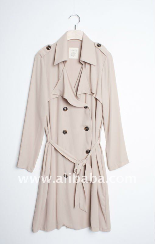 French Classic_Trench Coat_Womens Fall/Winter