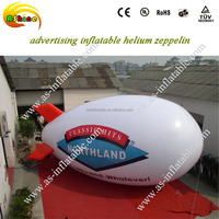 2016 Hot sale inflatable zeppelin inflatable balloon helium blimp helium balloon
