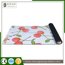 Neoprene soft natural rubber yoga mat Customized