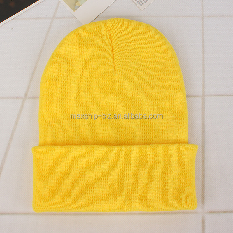 Wholesale Custom winter men and women beanie hats