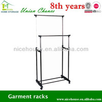 metal rotating clothes rack/clothes hanger rack/lift laundry drying rack