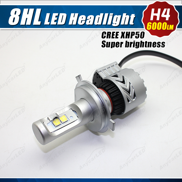 Latest Super Bright 8HL 6000LM nissan parts patrol sylphy urvan juke led headlight