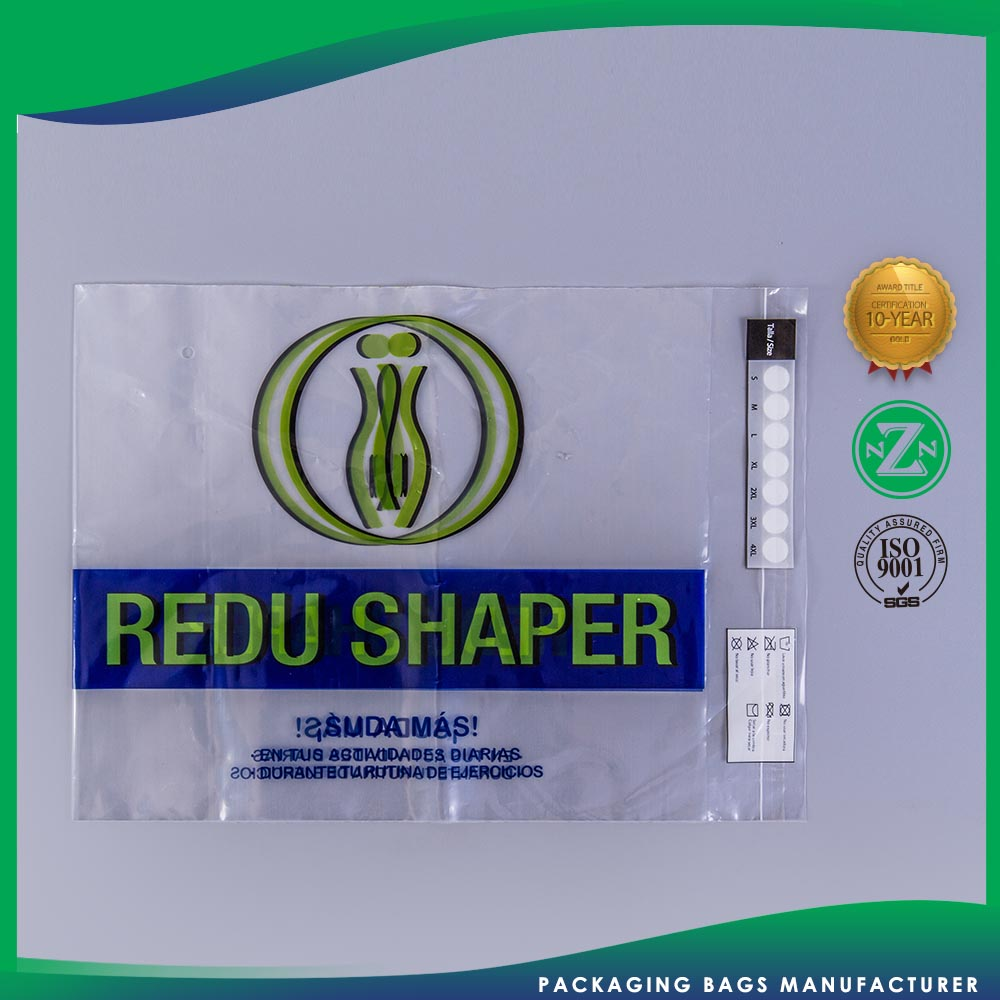Top Class Custom Shape Plastic Promotional Printed Self Seal Cellophane Bag