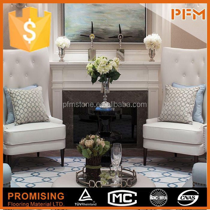 Factory supplier hot sale hand carved marble indian fireplace for indoor & outdoor decoration