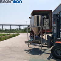 Factory price 300KG Double Stage PP PE granulating line plastic films recycling mother baby string pelletizing machine