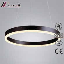 guzhen lighting ring acrylic LED pendant light with factory price