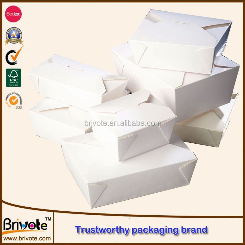 disposable paper food boxes/soap packaging box/bento lunch box