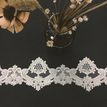 Fashion design no-elastic upholstery wedding embroidery lace
