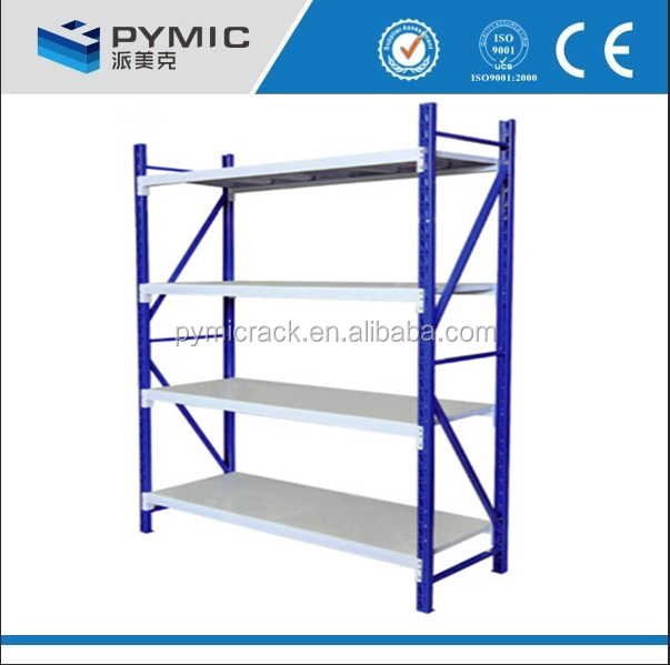 Angle iron Material stockroom racking and shelving