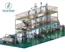 Chonginqg China Used Lube Oil Recycling Pure Plant/Machine/Equipment