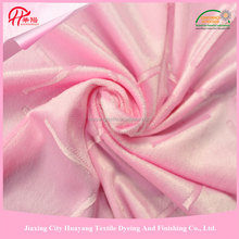 100% polyester material and make-to-order supply type in toys super soft velvet fabric