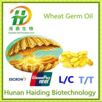 Pure Wheat Germ Oil unrefined by GMP factory in China