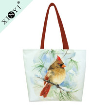 Wholesale high quality blank canvas tote bag large eco textile sublimation women tote bag with customized logo
