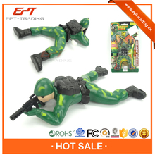 Wind up plastic toy soldier for selling