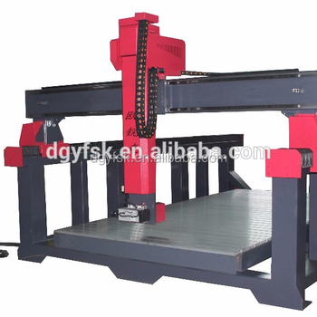 four axis cnc router mould machine with high quality and favourable price
