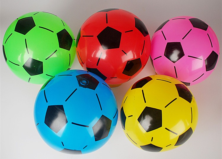 baby toy pvc inflatable beach soccer ball football bouncing hopper ball