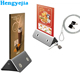 20000mAh Portable Menu Holder Advertising Display Stand Charger Station For Cafe Restaurant Bar Coffee Shop