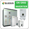 Bluesun China manufature good benefits grid tie 12kw solar power system