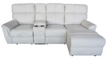 <strong>Modern</strong> furniture fabric recliner loveseat lounge removable cover corner sofa