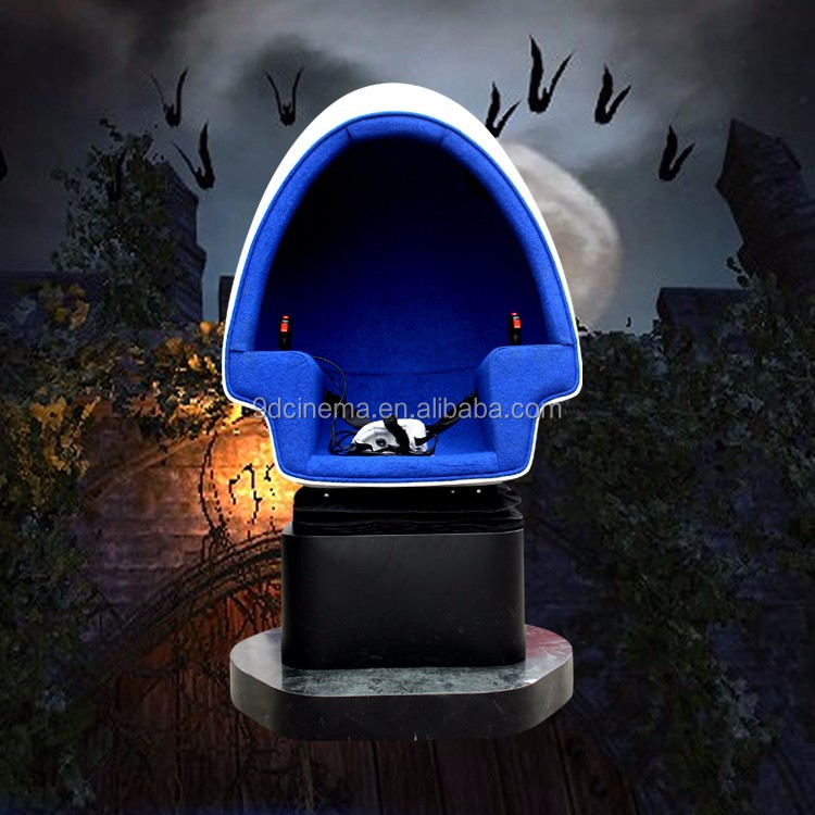 1080p Full HD 360 Degree Electric 1/3 Seat Motion Vr Egg Seats 9D Virtual Reality Cinema Machine
