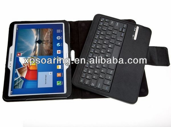 Bluetooth Keyboard With Leather Case For Samsung tab 3 7.0 P3200