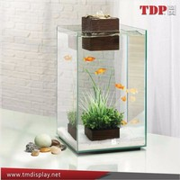 Clear square large acrylic aquarium,lucite acrylic fish tank,Modern and Luxury Acrylic Fish Tank
