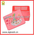 Small plastic basket box for daily use
