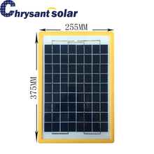 10W 18V Small Solar Panel with ABS frame