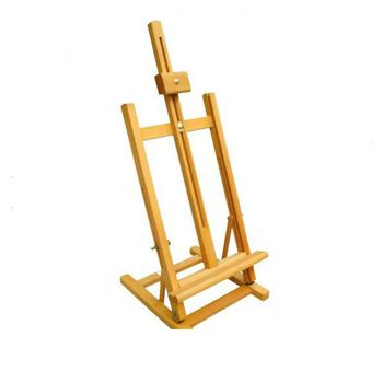 Wooden painting easel Wooden easel Studio Art Sketch easel Painting Stand Artist Adjust Wooden Easel Stand